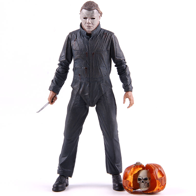 Neca Figures Halloween II Ultimate Michael Myers PVC Action Figure Collectible Model Toy 1