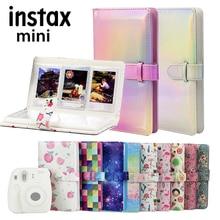 3 inç 96 cepler fotoğraf Film albümü depolama kitap FujiFilm Instax Mini 11 8 9 7s 50 90 mini Film kağıt boyutu