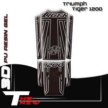 Naklejki na motocykl naklejka na zbiornik paliwa Fishbone naklejki ochronne dla Triumph Tiger 1200 2018