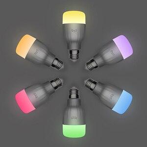 Image 3 - Bóng Đèn Thông Minh Yeelight Bóng Đèn Led Tích Điện Thông Minh 220V E27 9W 600 Lumens Ứng Dụng Điều Khiển Từ Xa Wifi RGBW Đèn Bóng Đèn nhà Thông Minh