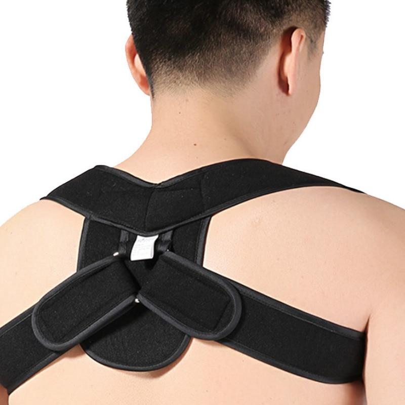 Back Adujustable Posture Corrector Belt Back Brace Support Kids Men Women Humpback Correction Spine Shoulder Brace Bandage Strap