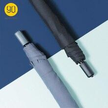 Ninetigo 90FUN parapluie trois pliant soleil pluie aluminium grand parapluie Protection solaire UV ultraléger UPF40 + unisexe Portable