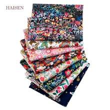 8 pz/lotto, splendido tessuto Patchwork stampato floreale, tessuto in tessuto di cotone Twill, cucito fai-da-te e materiale tessile trapuntato per neonati e bambini