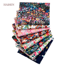 8pcs/lot,Gorgeous Floral Printed Patchwork Cloth,Twill Cotton Tissue Fabric, DIY Sewing&Quilting Textile Material For Baby&Child