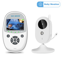 Wireless Video Color Baby Monitor 2 Way Talk High Resolution Baby Nanny Security Camera Night Vision Temperature Monitoring
