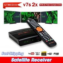 DVB Digital GTmedia V7 S2X HD Receptor support usb wifi DVB-S2 H.265 V7S2X decoder V7S HD TV box no app included
