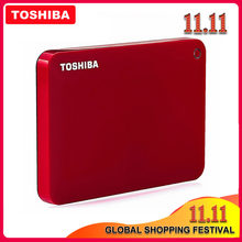 Toshiba-disque dur externe USB 3.0 de 2.5 pouces, Canvio Advanced V9, dispositif de stockage Portable HDD avec capacité de 1 to, 2 to, 3 to, pour ordinateur Portable