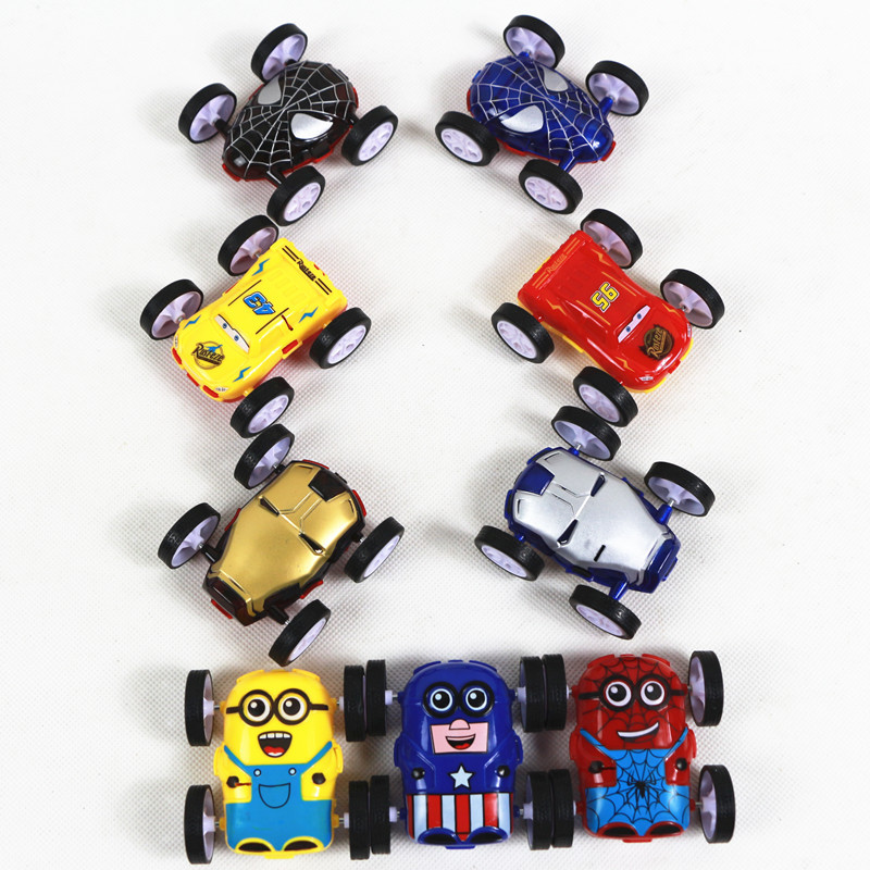 New Cool Double-sided Rolling Inertial Toy Car 360 Roll-off Children's Creative Fashion Birthday Gift Toys In 2019