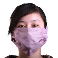 Radiation protection mask silver mulberry silk fiber men and women to mobile computers breathable radiation protection mask