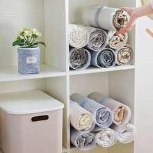 10 шт./компл. складные доски для хранения одежды Домашний артефакт PP шкаф быстрая скорость складные Складные брюки для хранения