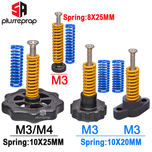 4PCS M3/M4 Screws Nuts Heat Be