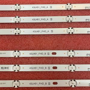 Image 3 - 6pcs/set LED backlight strip for LG 43LF510V 43LF5100 43LH5100 43LH5700 43LH570A 43LH520V 43LH590 43LJ515V 43LH510V 43LH570V