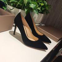 Vibsterimma High Quality high heels Women Genuine Leather Pumps 10 cm Multi color Lady Shoes