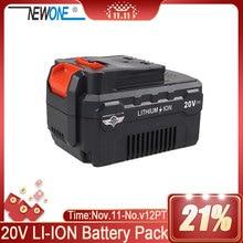 NEWONE 16V Batteria Al Litio 2000mAh/4000mAh compatibile con trapano, smerigliatrice angolare, lucidatrice, sega oscillante strumento