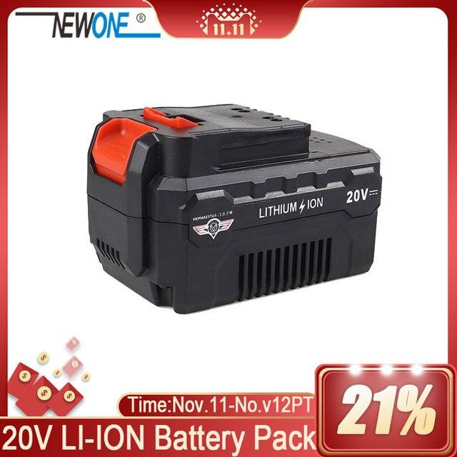 NEWONE 16V bateria litowa 2000mAh/4000mAh kompatybilny z wiertarką, szlifierka kątowa, polerka, piła szablasta, oscylator