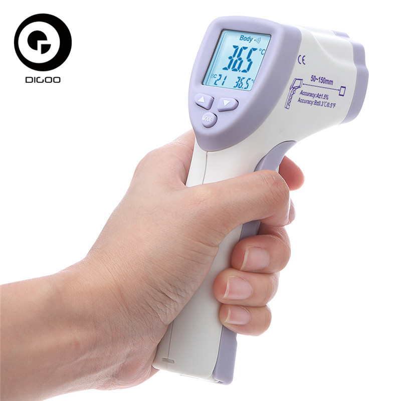 DIGOO DG-IR805 Non-Contact Infrared Thermometer/Body Temperature Sfor Adult Kids Forehead Digital Thermometer Temperature Sensor