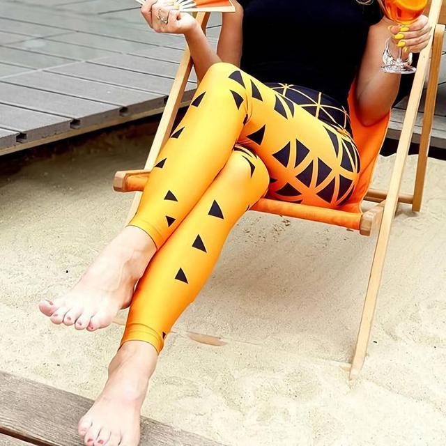 Plus size active leggings for women S-4XL