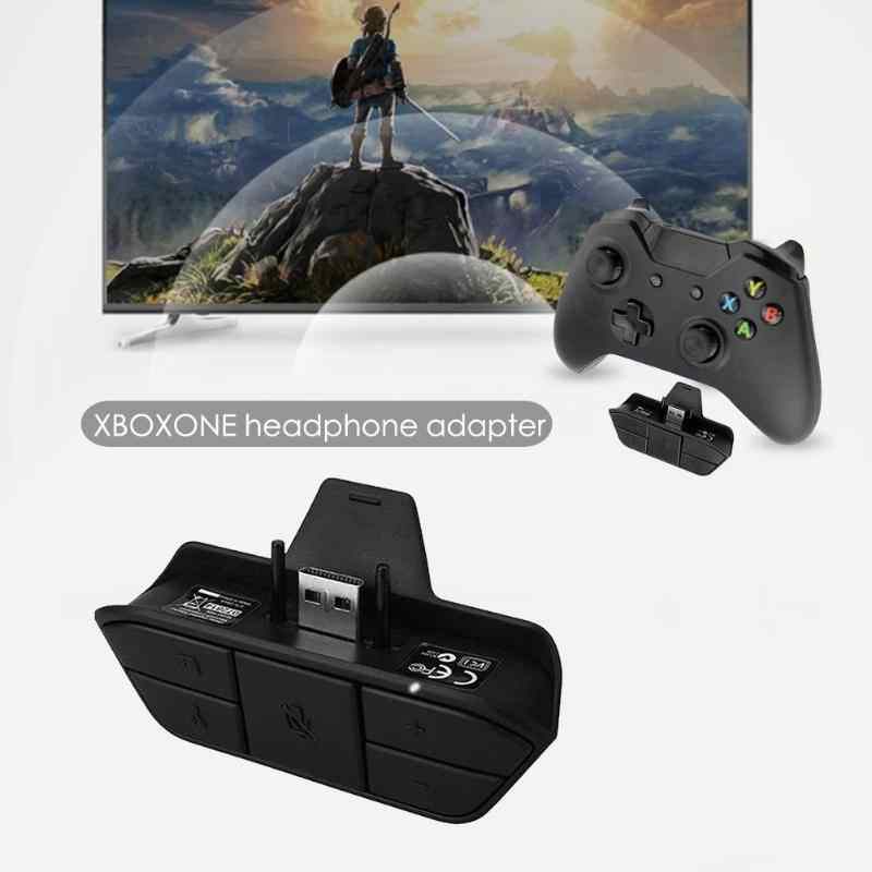 ALLOET Stereo ses kulaklık adaptörü dönüştürücü XBOX ONE kablosuz oyun konsolu denetleyici adaptörü 3.5MM ses jakı yeni