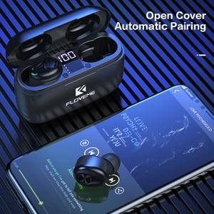 Image 5 - FLOVEME nowe słuchawki TWS 5.0 bezprzewodowe słuchawki Bluetooth dla iPhone 12 Max 11 8 XR Xiaomi 10 Pro Mi słuchawki douszne słuchawki douszne