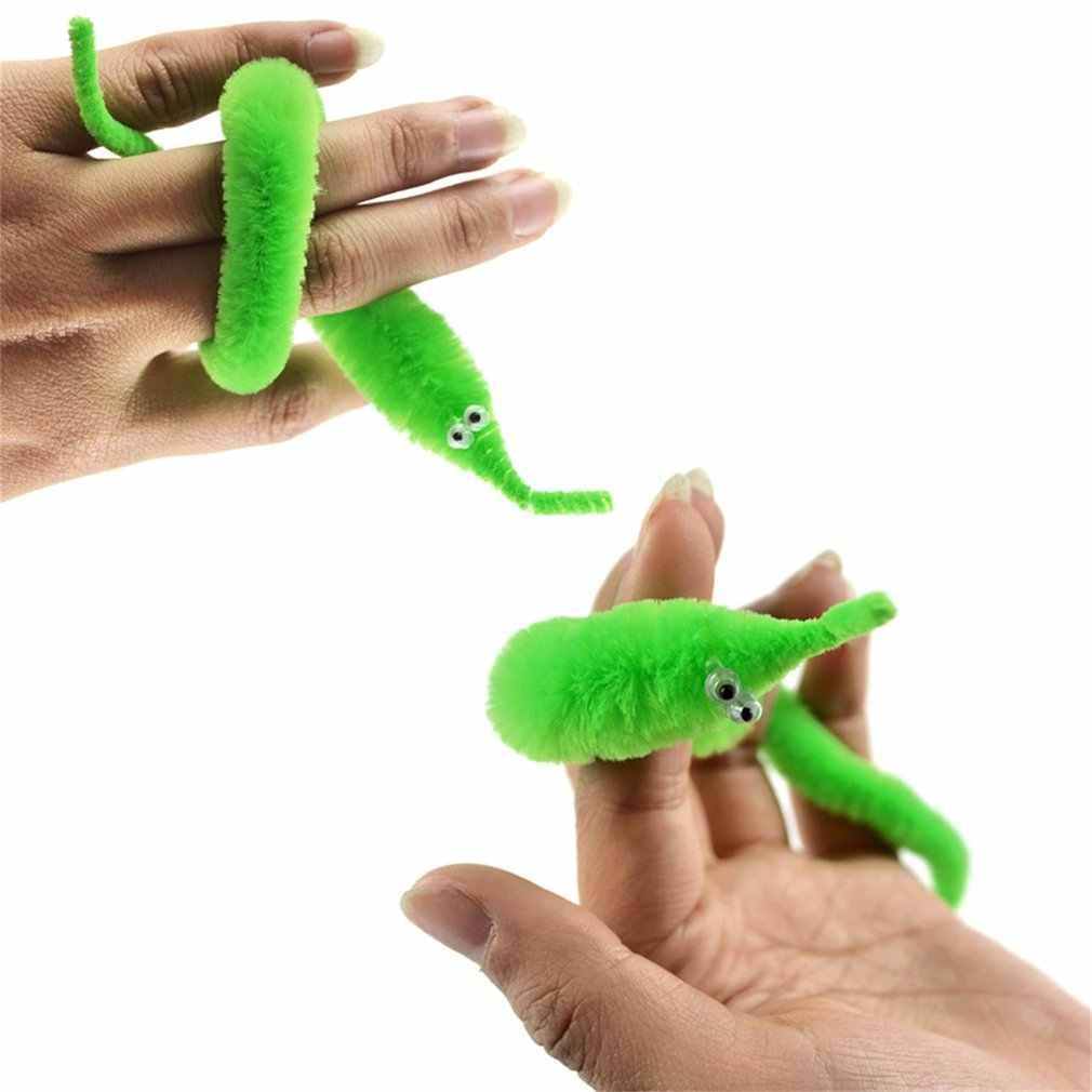 OCDAY magiczne Twisty robak ruchome ruchu Sea Horse dzieci sztuczka zabawka Caterpillar New Arrival
