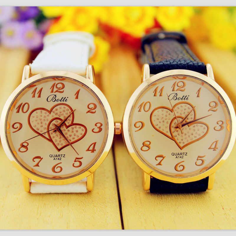 Dames Montre Femmes Montres Coeur Quartz Montre-Bracelet zegarek damski часы женские bayan kol saati relogios feminino reloj mujer
