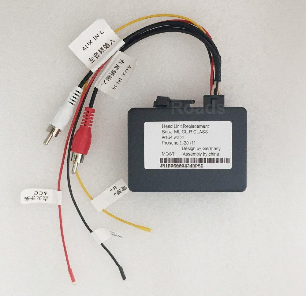 Erisin PC001 Fiber-Optic Decoder Box for Porsche Cayenne Benz ML//GL//R CLASS W164