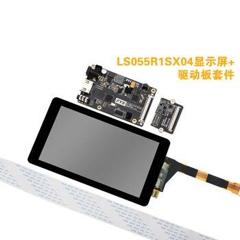 Kit D'éclairage De Film   3d Impression Photopolymérisable Kit De Carte Pilote 2560x1440 5.5 Pouces LS055R1SX04 2k écran Avec Film Pour Photon 3d Imprimante UV SLA