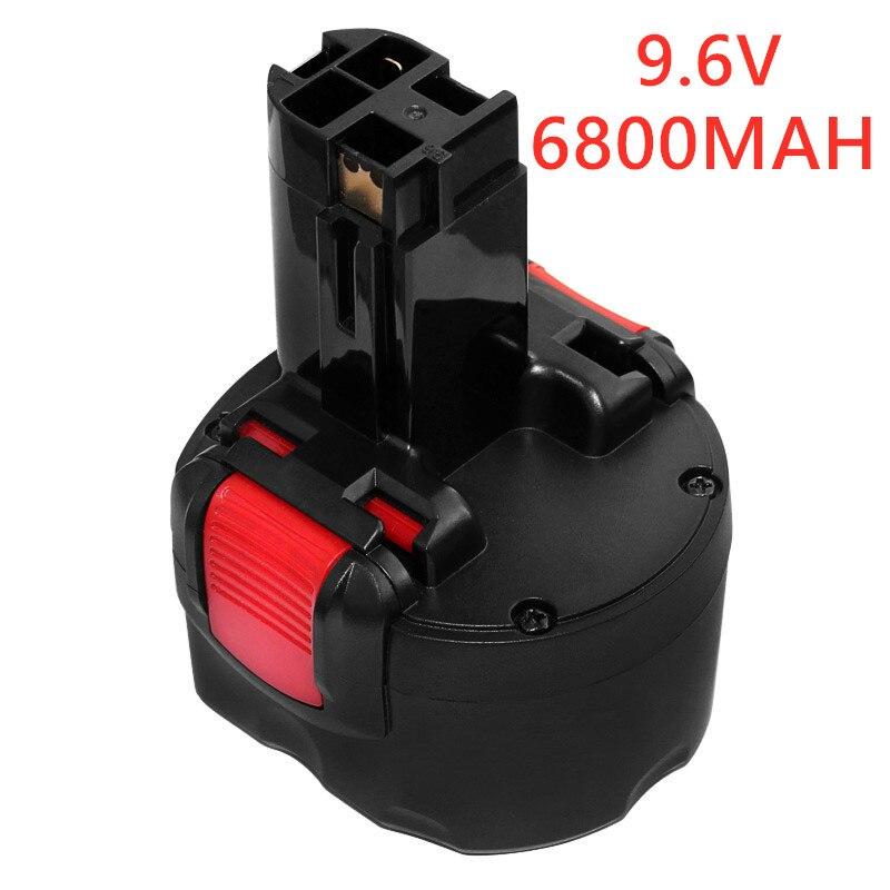 Аккумуляторная батарея BAT048 9,6 в 6800 мАч Ni-CD, аккумулятор для электроинструментов и 4800 мАч для Bosch PSR 960 BH984 BAT048 BAT119