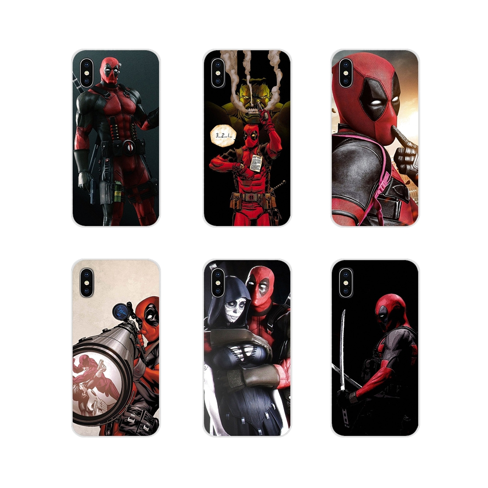 For Xiaomi Mi4 Mi5 Mi5S Mi6 Mi A1 A2 5X 6X 8 <font><b>9</b></font> Lite SE Pro Mi Max Mix 2 3 2S Accessories Phone Covers movie <font><b>knife</b></font> deadpool Style image