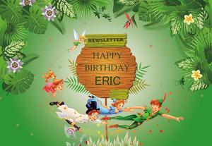 Image 3 - カスタムいじくり妖精写真の背景子供の誕生日パーティー新生児シャワー写真の背景グリーンビニールフォトブースの小道具