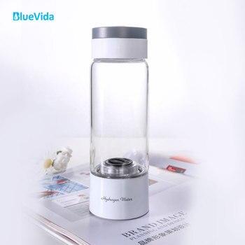 Generador de agua de Hidrógeno BlueVida SPE & PEM de alta concentración con 2 modos de trabajo y modo de autolimpieza y puede absorber hidrógeno