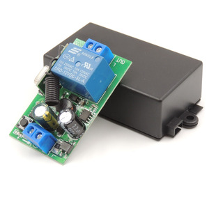 Image 5 - 433 MHz rf Remote Control AC 220V 10A 1CH Relay Receiver for universal garage/door/Light/LED/Fanner/motor/Signal transmission