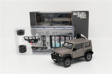 1:64 BM Creations Suzuki Jimny (JB74) Matte Grey w/accessory pack Right Hand Drive Diecast Model Car