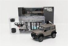 1: 64 Bm Creaties Suzuki Jimny (JB74) matte Grey W/Accessoire Pack Rechterhand Drive Diecast Model Auto