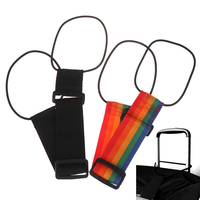1 Pcs Hinzufügen EINE Tasche Strap Reise Gepäck Koffer Verstellbaren Gürtel Straps Farbe Zufällig Gepäck Gürtel