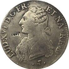 1776 французская Монета КОПИЯ