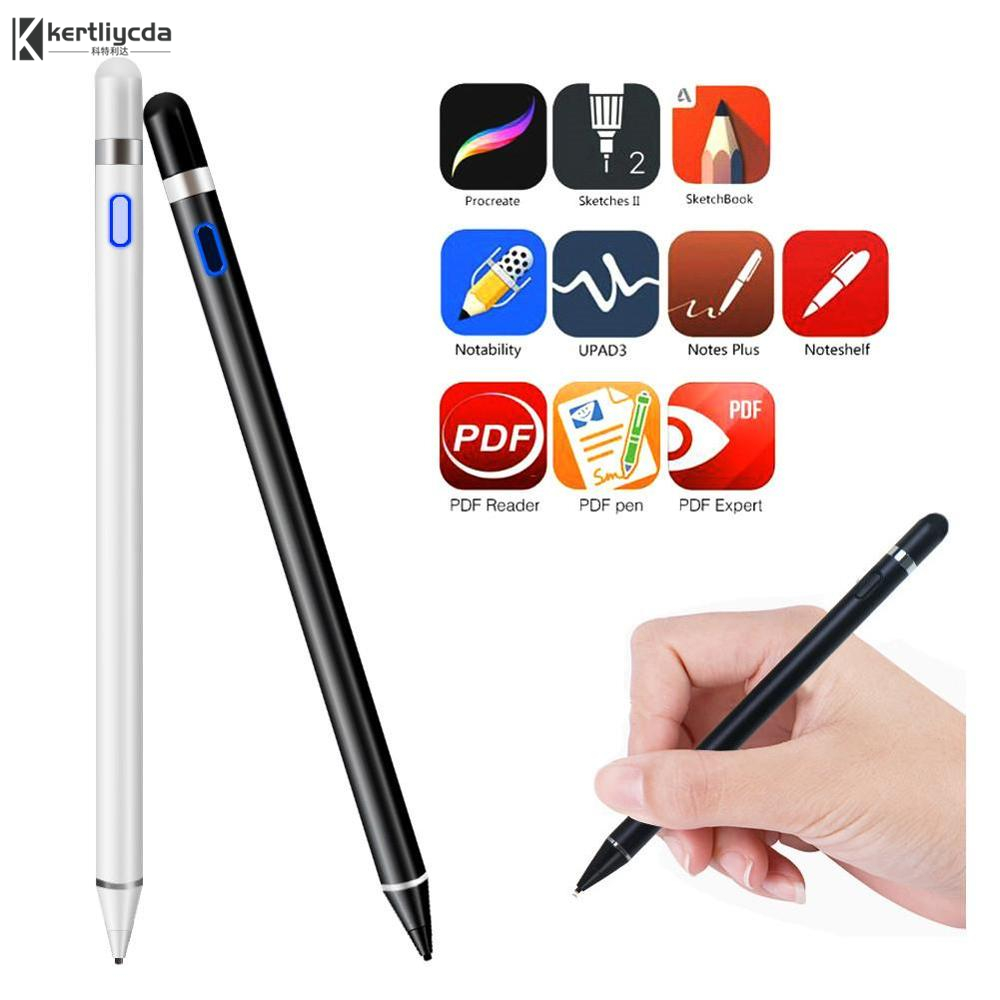 High precision For Apple <font><b>Pencil</b></font> 2 Touch Pen copper nib Stylus For <font><b>iPad</b></font> <font><b>Pro</b></font> 11 12.9 9.7 2018 Air 3 <font><b>10.5</b></font> 2019 Mini 5 Drawing Pen image