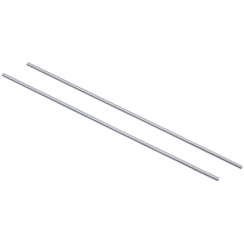 GTBL 20x Steel Rod Bar Round Stock Lathe Tools 1.5mm Dia 100mm Length Silver