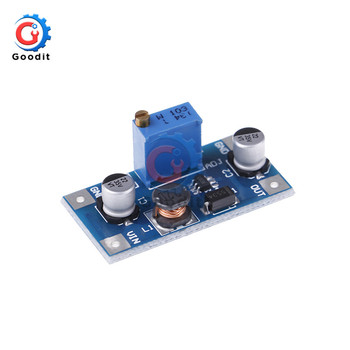 XH-M415 SX1308 DC-DC Step UP Power Supply Module 2A Adjustable Step-up Boost Converter 2V-24V To 3V 5V 6V 9V 12V 19V image