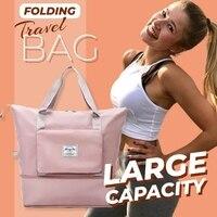 Große Kapazität Klapp Lagerung Taschen Multifunktionale Oxford Tuch Wasserdicht Tote Handtasche Duffle Frauen Sport Schwimmen Reisetasche