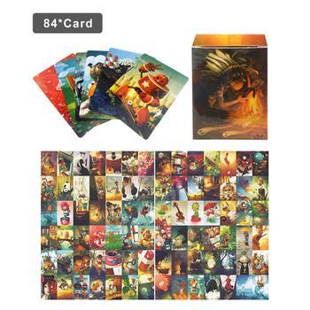 84 sztuk zestaw harmonie Expension karty do gry stół kartonowe karty do gry karty do gry na rodzinne spotkania tanie i dobre opinie CN (pochodzenie) Multiplayer Party Game Cards
