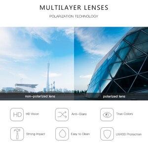 Image 5 - Aevogue 新女性レトロ屋外偏光サングラス透明韓国ラウンドファッション駆動サングラスユニセックス UV400 AE0850