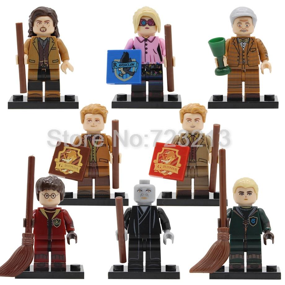 Single PG8155 Figure Horace Sirius Orion Black Fred George Weasley Luna Voldemort Building Blocks Brick Toys Legoing