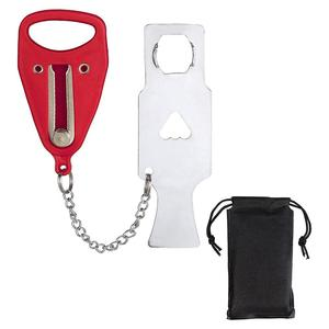 Portable Security Hotel Door Lock Self-Defense Door Stop Travel Travel Accommodation Door Stop Door Lock