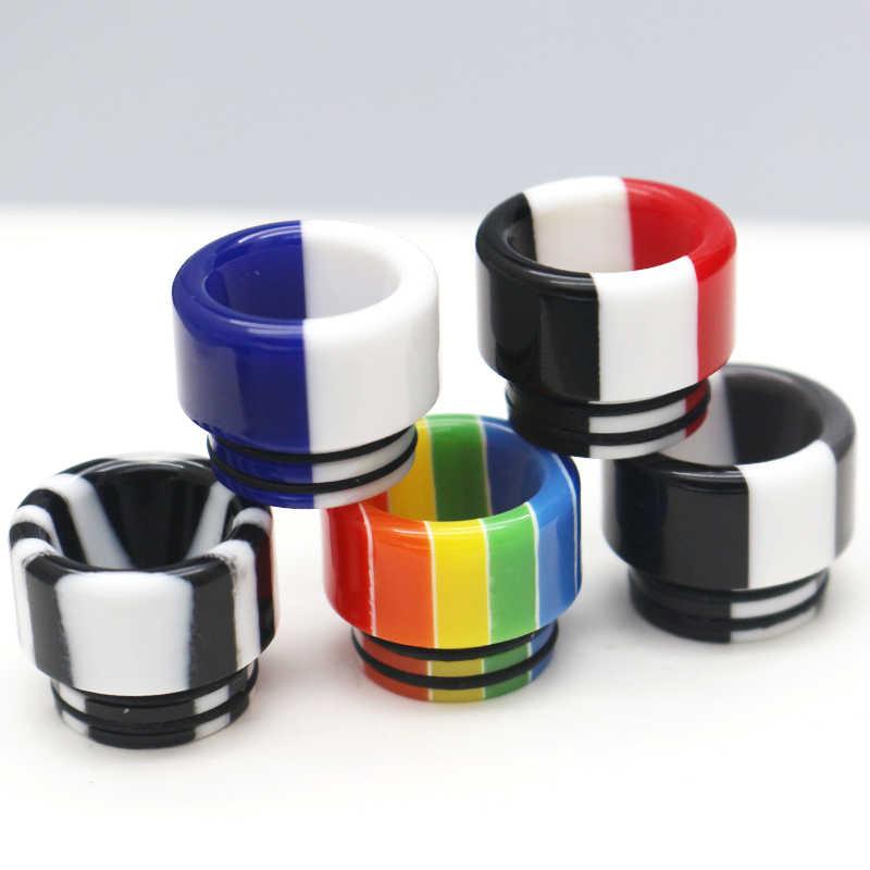 2pcs Drip Tip 810 Hars sigarettenhouder accessoires Hars Mondstuk voor TFV8 Grote Baby/TFV12 met O- ring