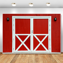 Красная стена фон для фотографии белая деревянная дверь день