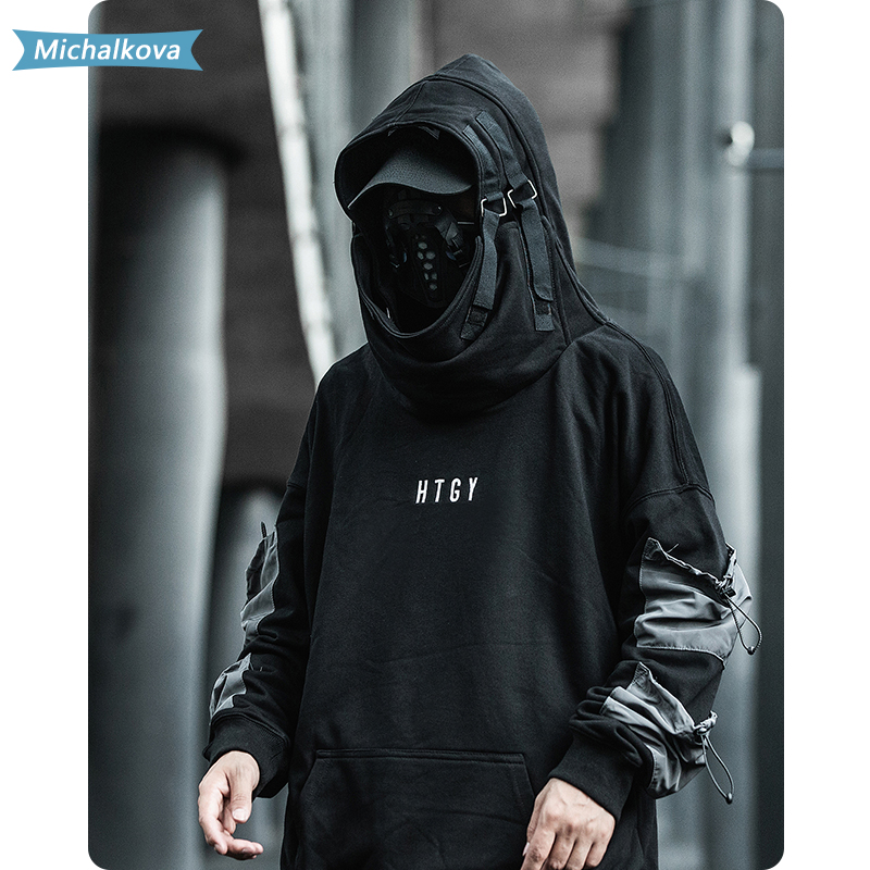 Hip Hop Letter Embroideried Thick Hooded Sweatshirts Harajuku women/Men's clothes clStreetwear Hoodies Casual Cotton Pullover