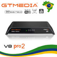 [Brazil]GTMedia V8 Pro2 DVB-T2/S2/Cable ATSC-C(J83.B) Satellite Receiver H.265 Built-in WIFI Support IPTV CCcam Newcam CS TV BOX
