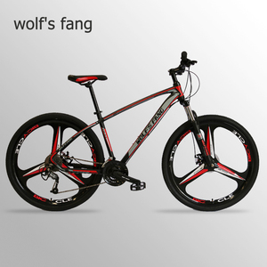 Image 1 - Wolfs fang Bicycle Mountain Bike Aluminum alloy 27 Speed 29 Inches Road bikes  bmx mtb snow Fat bike beach bicycles New Man