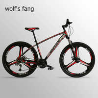 Wolf's fang bicycle Mountain Bike 27 Speed 29 Inches bike 29 road bike Resistance Rubber bike speed bmx Free shipping
